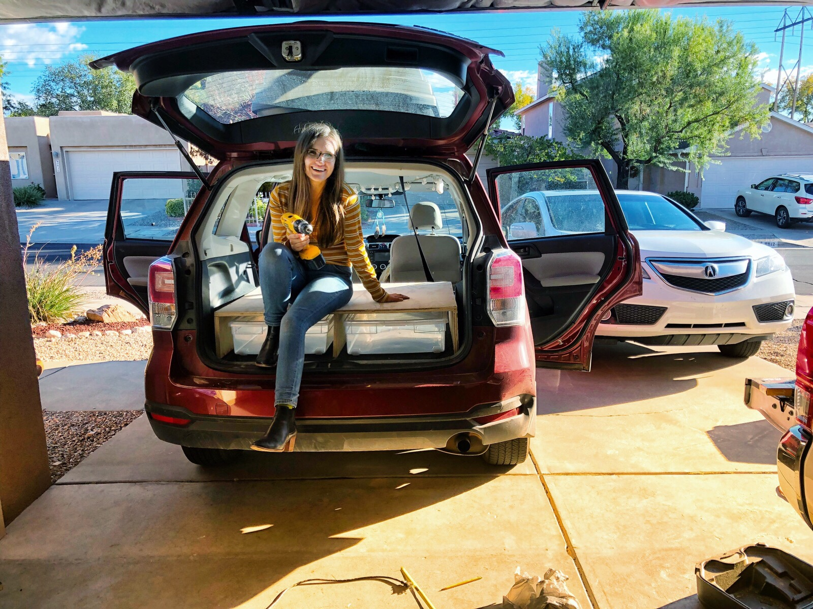 How I Turned My SUV into the Ultimate Camper » Bonjour Becky